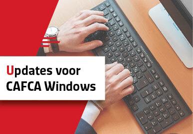 Updates voor CAFCA Windows